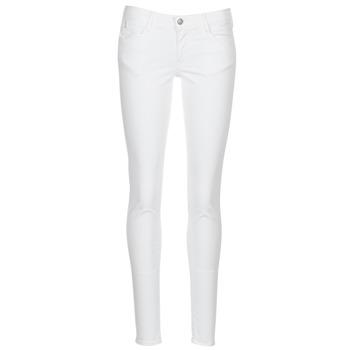 Clothing Women 5-pocket trousers Le Temps des Cerises 316 White