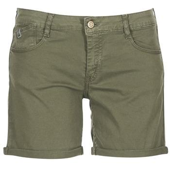 Clothing Women Shorts / Bermudas Le Temps des Cerises RAIPORT Kaki