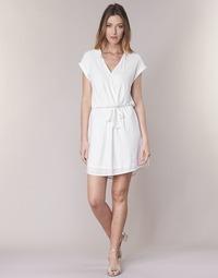 Clothing Women Short Dresses Le Temps des Cerises FORKATON White