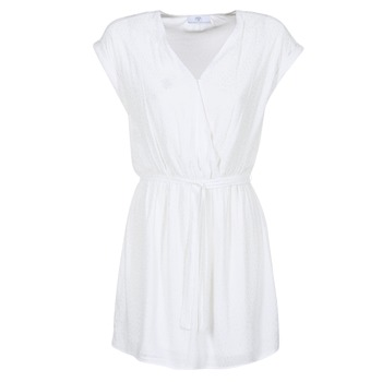 Clothing Women Short Dresses Le Temps des Cerises FORKATON White