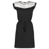 Clothing Women Short Dresses Le Temps des Cerises JURIETO Black