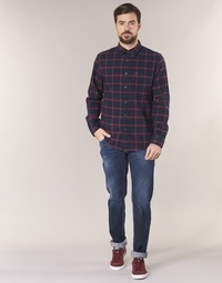 Clothing Men slim jeans Le Temps des Cerises LOURITA Blue / Raw