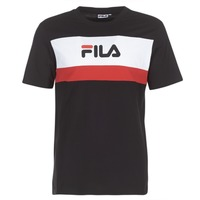 Clothing Men short-sleeved t-shirts Fila AARON TEE SS Black