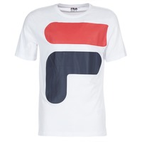 Clothing Men short-sleeved t-shirts Fila CARTER TEE White