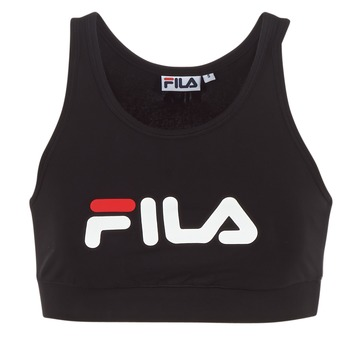 Clothing Women Sport bras Fila OTHER CROP TOP Black