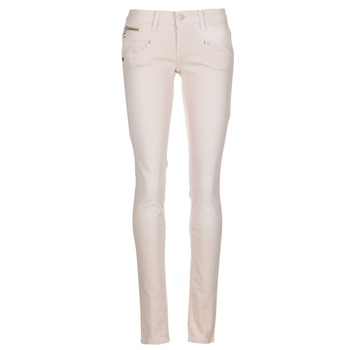 Clothing Women 5-pocket trousers Freeman T.Porter ALEXA SLIM MAGIC COLOR Pink