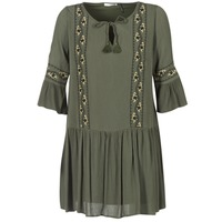 Clothing Women Short Dresses LPB Woman ANTO Kaki