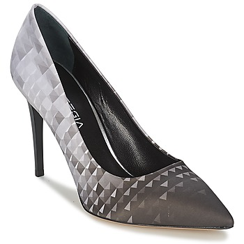 Shoes Women Heels Strategia BALSORANO Black / White