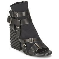 Shoes Women Ankle boots Strategia BUGNARA Black