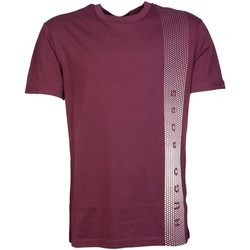 Clothing Men short-sleeved t-shirts Boss Hugo :t-shirt T-SHIRT RN 50332315 red