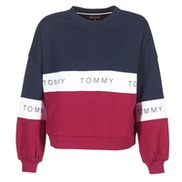 Clothing Women sweatpants Tommy Jeans TJW COLOR BLOCK CN Marine / Red / White