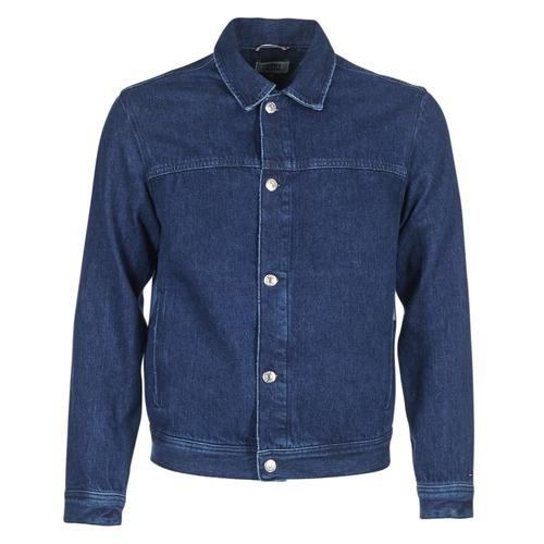 Clothing Men Denim jackets Tommy Jeans TJM STREET TRUCKER JKT Blue / Medium
