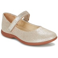 Shoes Girl Flat shoes Kickers AMBELLIE Gold