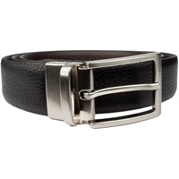 Clothes accessories Boy Belts Vaello LEATHER BELT BLACK