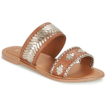 Shoes Women Mules Ravel DELANO Brown