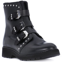 Shoes Girl Boots Cult ROSE BLACK Nero