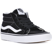 Shoes Men Trainers Vans SK8 MID REISSUE Nero