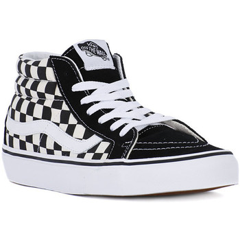 Shoes Men Trainers Vans SK8 MID REISSUE Bianco