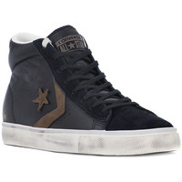 Shoes Hi top trainers Converse PRO LEATHER VULC MID Nero