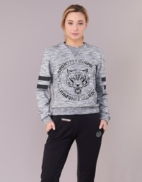 Clothing Women sweaters Philipp Plein Sport LET YOUR MIND FREE Grey
