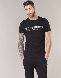 Clothing Men short-sleeved t-shirts Philipp Plein Sport BY YOU Black / Silver