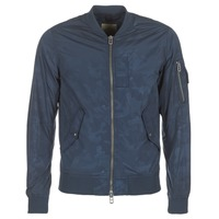 Clothing Men Jackets Teddy Smith BAILEY Marine