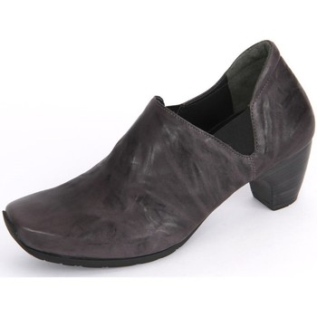 Shoes Women Clogs Think Think Anthrazit Capra Rustico