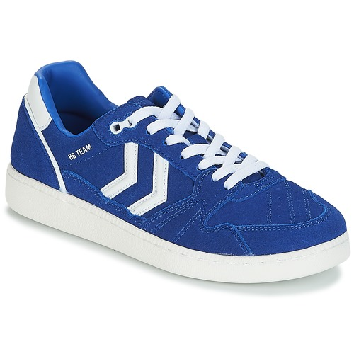 Shoes Low top trainers Hummel HB TEAM SUEDE Blue