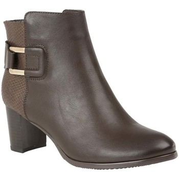 Shoes Women Boots Lotus Jeckle Womens Casual Ankle Boots brown