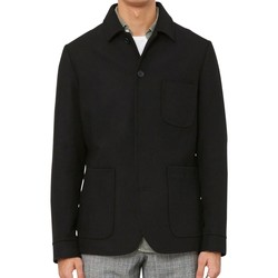 Clothing Men Jackets / Blazers Wax London Elland Jacket Black Black