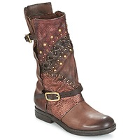 Shoes Women Mid boots Airstep / A.S.98 VERTI Choco / Amaranth