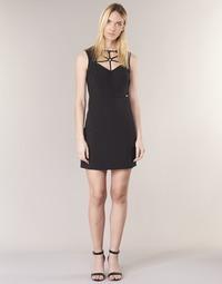 Clothing Women Short Dresses Guess SLOREPA Black