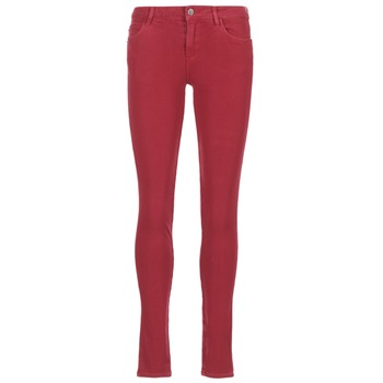 Clothing Women slim jeans Guess SANSOPO Red