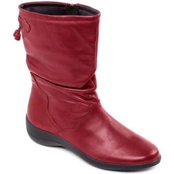 Shoes Women Boots Padders Regan Womens Calf Length Boots red