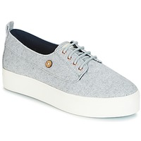 Shoes Women Low top trainers Faguo FIGLONE01 Grey