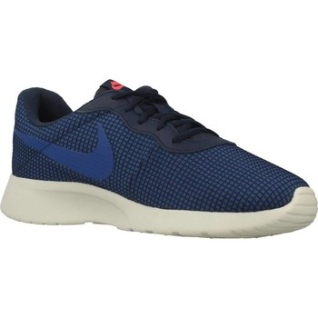 Shoes Men Low top trainers Nike TANJUN SE Blue