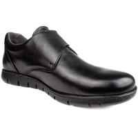 Shoes Boy Loafers Onfoot BLUCHER VELCRO SHOES BLACK