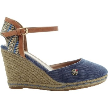 Shoes Women Espadrilles Wrangler Brava WL171610 Navy blue