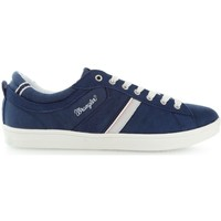 Shoes Men Low top trainers Wrangler Pół Vidy Derby WM161041 Navy blue