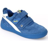 Shoes Children Low top trainers Lurchi Bruce Royal Blue Suede
