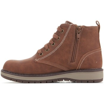 Shoes Children Mid boots Skechers Gravlen Brown