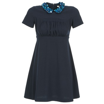 Clothing Women Short Dresses Manoush COMMUNION Blue