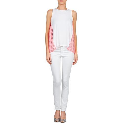 Manoush Manoush Ajoure Pink Carre White Ajoure 0qvw1qR