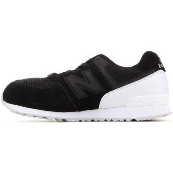 Shoes Children Low top trainers New Balance KL574C8G Black