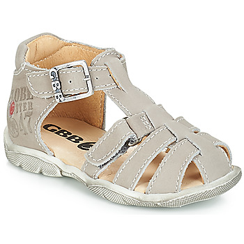 Shoes Boy Sandals GBB PRIGENT Grey