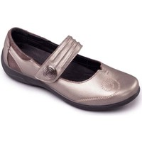 Shoes Women Derby Shoes & Brogues Padders Poem Womens Mary Jane Shoes Silver