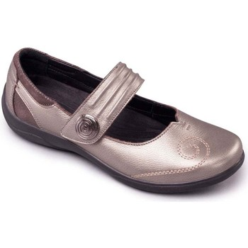 Shoes Women Shoes Padders Poem Womens Mary Jane Shoes Silver