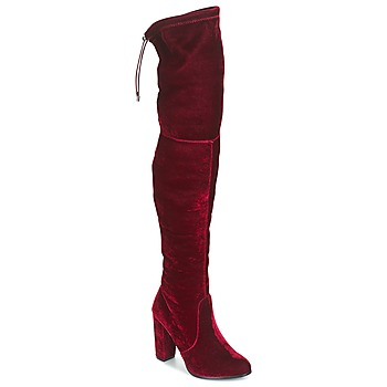 Shoes Women Thigh boots Buffalo  Red