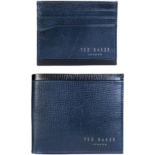 Bags Men Wallets Ted Baker DA7MGG62CROSSY_navy blue