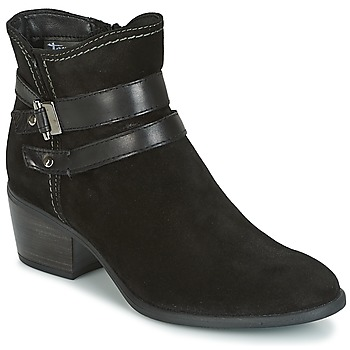 Shoes Women Ankle boots Tamaris ABERBER Black